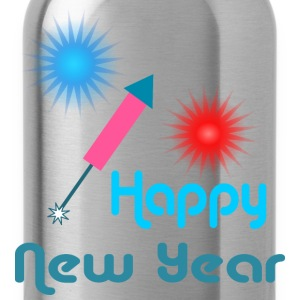 Happy New Year T-Shirts - Water Bottle