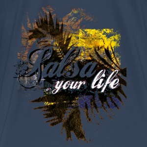 Salsa your life | tanzshirts - Premium T-skjorte for menn