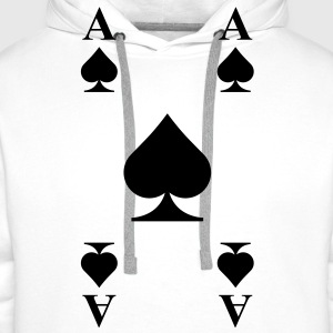 Ace of spades  Tops - Men's Premium Hoodie