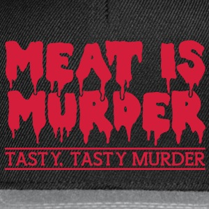 Meat is murder Tops - Snapback Cap