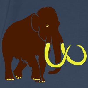 mammoth elephant stone age cave hunter outdoor Tops - Men's Premium T-Shirt