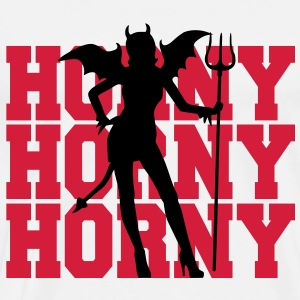 Horny Lady Tops - Men's Premium T-Shirt