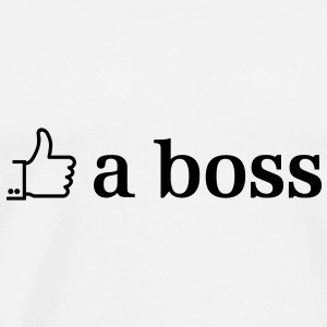 like a boss Tops - Men's Premium T-Shirt