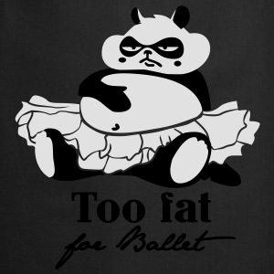 Too fat for Ballet Topy - Fartuch kuchenny