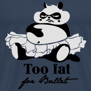 Too fat for Ballet Toppar - Premium-T-shirt herr