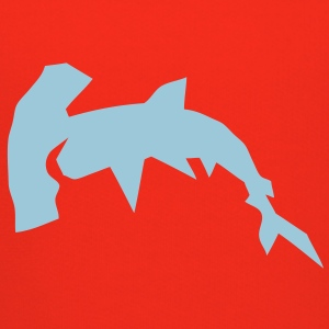 requin marteau cartoon design papier des Tee shirts - Pull à capuche Premium Enfant