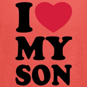 I love my son T-Shirts - Dame tanktop fra Bella