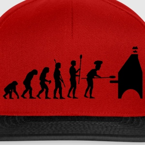 evolution_pizza_g1 Tee shirts - Casquette snapback