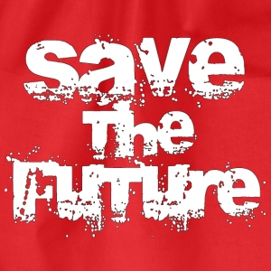 Save The Future - White Tops - Drawstring Bag