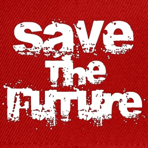 Save The Future - White Tops - Snapback Cap
