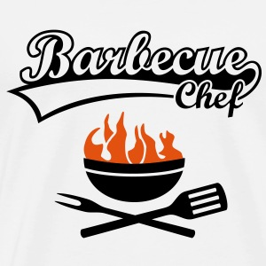 Maître Barbecue Grill Chef - Griller BBC incendie Tee shirts - T-shirt Premium Homme