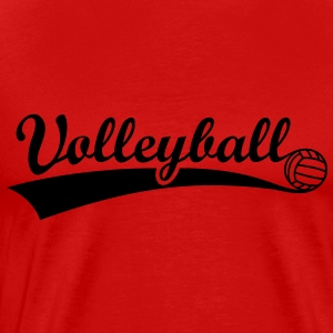 Volleyball Ball  Toppe - Herre premium T-shirt