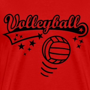 Volleyball Ball * Sports spil spiller Athlete Toppe - Herre premium T-shirt