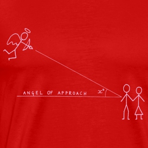 Angle of Approach (Pink) Tops - Men's Premium T-Shirt