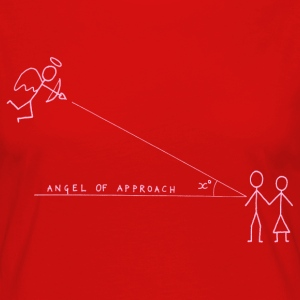 Angle of Approach (Pink) Tops - Women's Premium Longsleeve Shirt