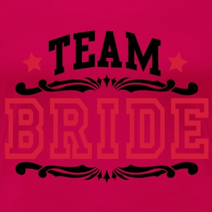 team bride Topper - Premium T-skjorte for kvinner