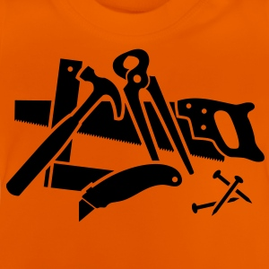 Tools for handymen and craftsmen. Shirts - Baby T-Shirt
