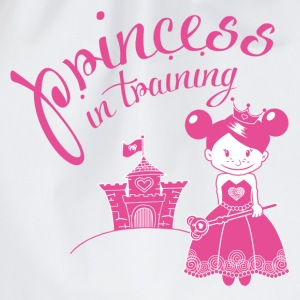 princess in training Tops - Turnbeutel