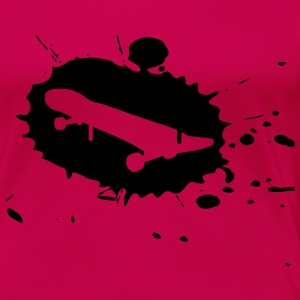 splash skateboard Tops - Frauen Premium T-Shirt