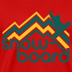 snowboard Tops - Men's Premium T-Shirt