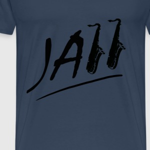 jazz Tops - Mannen Premium T-shirt