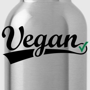 vegan vegetarian animal Welfare Go veggie Go green Top - Borraccia