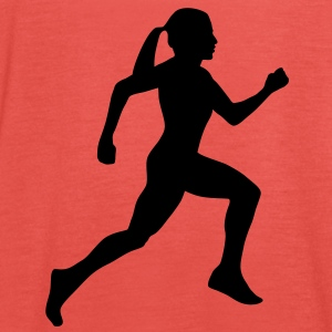 runner, running, T-Shirts - Women's Tank Top by Bella