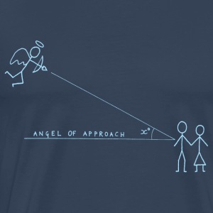 Angle of Approach (Blue) Tops - Men's Premium T-Shirt