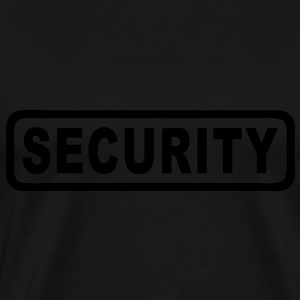 SECURITY Tee shirts - T-shirt Premium Homme
