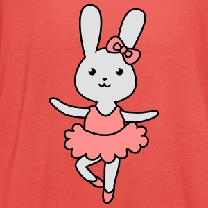 ballet bunny Shirts - Women's Tank Top by Bella