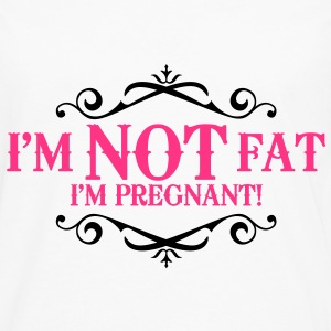 I'm not fat I'm pregnant! Tops - Men's Premium Longsleeve Shirt
