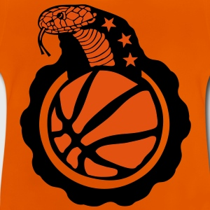 basketball serpent cobra snake logo club Tee shirts - T-shirt Bébé