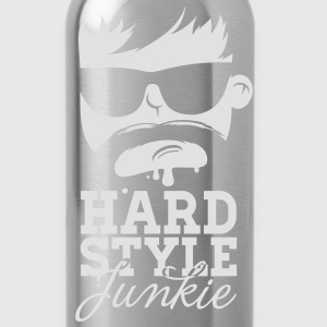 i love hardstyle dubstep moustache dance music Tops - Drinkfles