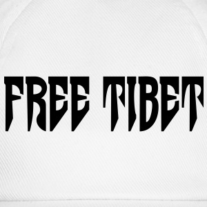 Free Tibet. International Independence Movement T-Shirts - Baseball Cap