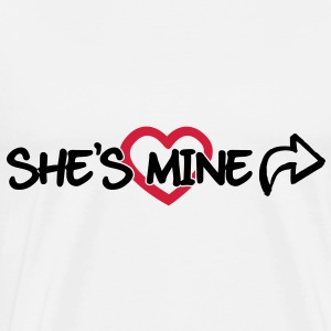 She's mine Tops - Men's Premium T-Shirt
