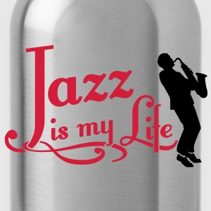 jazz is my life Toppar - Vattenflaska