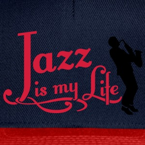 jazz is my life Topper - Snapback-caps