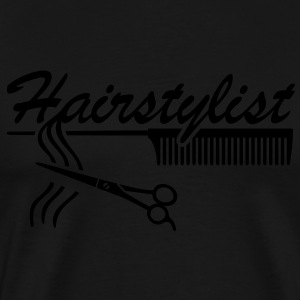 Hairstylist coiffure Styling `* Ciseaux à cheveux  Tee shirts - T-shirt Premium Homme