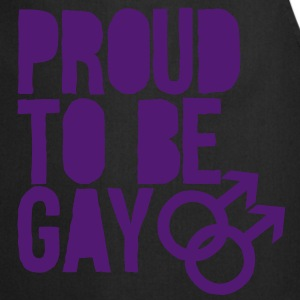 Proud to be gay Tops - Keukenschort