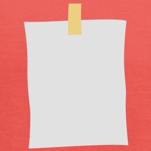 post_it_note T-shirts - Dame tanktop fra Bella