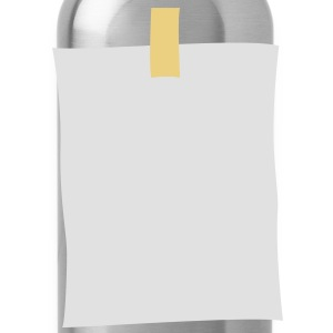 post_it_note T-Shirts - Trinkflasche