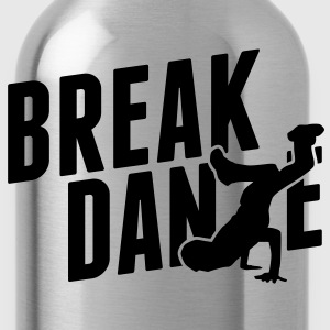 breakdance T-Shirts - Trinkflasche