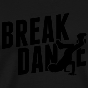 breakdance T-shirts - Herre premium T-shirt