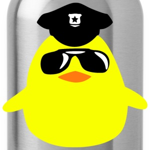 cool cop chick T-Shirts - Trinkflasche
