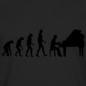 piano evolution Tee shirts - T-shirt manches longues Premium Homme