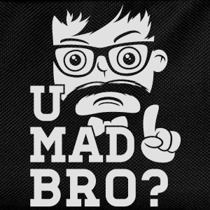 Like a cool you mad story bro moustache T-Shirts - Kids' Backpack
