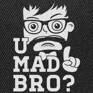Like a cool you mad story bro moustache T-Shirts - Snapback Cap