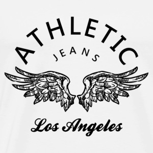 Athletic jeans los angeles T-Shirts - Männer Premium T-Shirt