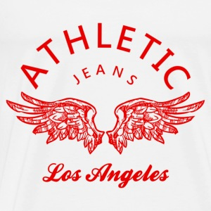 Athletic jeans los angeles Tops - Männer Premium T-Shirt