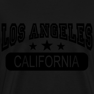 los angeles california Tops - Mannen Premium T-shirt